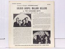 The Sunshine Boys Golden Gospel Million Sellers vinyl LP Starday SLP-156