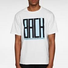 Opening Ceremony - Bach - M602231002 - white/multi tee shirt size Xs/Tp c8