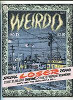 Weirdo # 12 Winter 1985   Robert Crumb underground comix MBX90