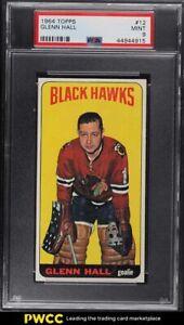 1964 Topps Hockey Glenn Hall #12 PSA 9 MINT