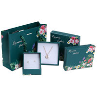 Jewelry Paper Gift Boxes For Ring Earrings Necklace Bracelet Box Case Ch np