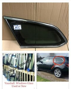 Vauxhall Astra J Estate Window Glass Passenger  1/4 Tinted O/S. 2010 - 2015