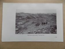 Lawrence of Arabia Book Page, 2 Sides, Lost City Caravan & Rock Temples
