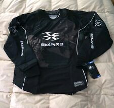 New : Empire Contact Pro Se Black Paintball Jersey : L : New With Tags