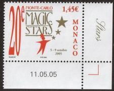 MONACO MNH 2005 The 20th International Festival - Magic Stars