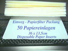 50 Einweg Filter Sterilgutbehälter Autoklav Steri 25TC Disposable Paper Inserts