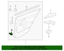 GENUINE HONDA/ACURA 91560-S84-A01 CLIP - Door Lining (Natural) (Bag of 6)