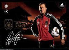 Andreas Köpke DFB Autogrammkarte WM 2010+  75746