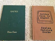 Brian Keene Halves Kealan Burke Seldom Seen Lettered Edition Set
