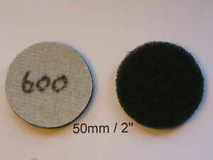 """Non-woven Abrasive Discs Hook and Loop Backed 2"""" / 50mm   600 Grit"""