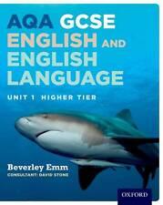 AQA GCSE English and English Language Unit 1 Higher Tier: Unit 1 by Beverley Em…