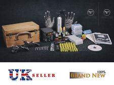 Kit de tatuaje de caída de precios Reino Unido conjuntos Completo Fuente de alimentación máquina profesional Tinta superior USA