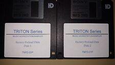 More details for korg triton/pro/prox tnfd-00p/01p pre-load factory data floppy/boot restore disc