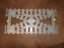Lego® City Eisenbahn - 7996 - Doppelkreuzweiche / Kreuzung