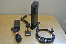 New listing StarTech Usb 3.0 Dvi Vga Video Audio Ethernet Laptop Docking Station Usb3Sdockd