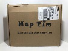 HapTim Baby Diaper Bag Backpack W/ Stroller Straps- Multi-function Dark grey New