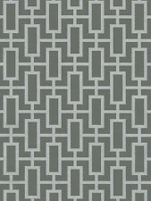 Silver Grey Geometric Wallpaper Modern Look DOUBLE roll TU27088