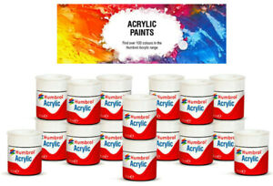 Humbrol Acrylic Paint 12ml Modelling Paint Model Kit Paints Matt / Satin / Gloss