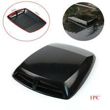 1x Well Made 3D Car Air Flow Intake Hood Scoop Vent Bonnet Cover Plastic Sticker
