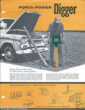 Farm Equipment Brochure - Speed King - Porta-Power Digger  (F4235)