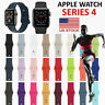 Silicone Sport Band Replacement For Apple Watch Series 2 3 4 38mm/42mm/40mm/44mm