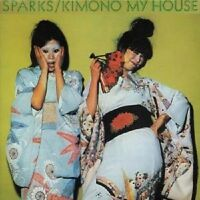 SPARKS 'KIMONO MY HOUSE' CD RE-RELEASE NEW+