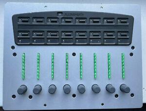 Allen & Heath PL10 Rotary Fader Plate Module