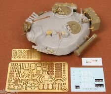 T-72M1/A turret for Tamiya kit 1:35 SBS Model resin photo etched + decals