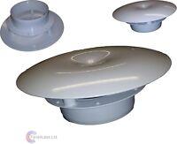 "41705 - 4"" 100mm Wall Mushroom Cowl Caravan, House External Ventilation Grille"