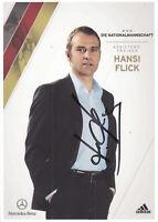 Hansi FLICK - DFB-Karte EM 2012, Original-Autogramm!