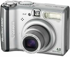 Canon Powershot A520 4MP Digital Camera with 4x Optical Zoom (OLD MODEL)-USED