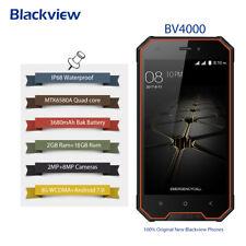 Wasserdicht IP68 2GB+16GB QuadCore 3CAM 3G Smartphone Blackview BV4000 Pro Handy