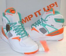Reebok The Pump Certified X Titolo Miami Dolphins Teal orange white grey 13 3ee2d836a