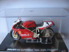 MOTO 1/24 COLLECTION DUCATI 916 SUPERBIKE 1994 CARL FOGARTY  MOTORCYCLE