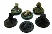 Tree stump scatter terrain pack of 6 28mm Wargames Terrain Scenery Warhammer