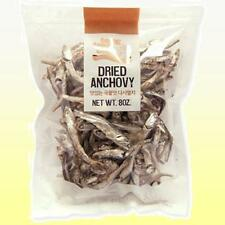 High grade DRIED ANCHOVY (8 oz) - Wild Anchovies Fish Korean Seafood