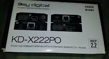 New listing Key Digital Kd-X222Po Video Extender Transmitter/Receiver Kdx222Po ( New)