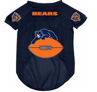 NEW CHICAGO BEARS PET DOG FOOTBALL JERSEY THROWBACK RETRO ALL SIZES