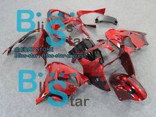 Red ABS Fairing Bodywork Plastic Kit Kawasaki Ninja ZX-9R 2000-2001 016 D7