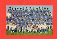 1985  Ny Mets Team Postcard Team Issued Barry Colla Rare Dwight Gooden RC