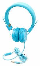 "Azul Niños Auriculares Con botón remoto & Micrófono para Wonnie 10.5"" Reproductor de DVD"