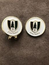 Pine Valley Golf Club Ball Marker Clip New