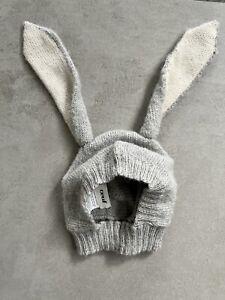 Oeuf Nyc Baby Rabbit Hat - Soft Alpaca Knit - 0-6 Months