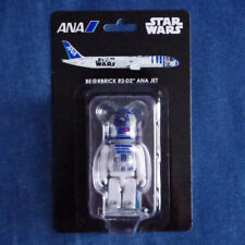 F/S New Bearbrick 100% R2-D2 STARWARS ANA Jet limited Medicom toy from JAPAN