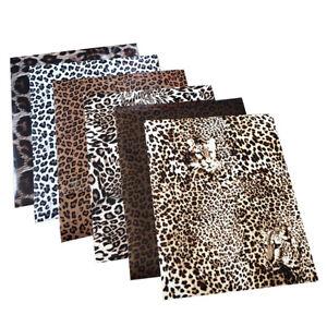 Leopard Vinyl Heat Transfer Bundle Cameo Cricut Heat Press Iron On T-Shirt Shoes
