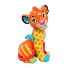 Disney by Britto The Lion King Sitting Simba Stone Resin Mini Figurine