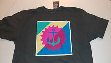 Pink Dolphin The Multi Stamp Anchor Print  Tee Street Ware - Large - Gray