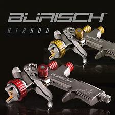BURISCH LVLP Spray guns sprayguns GTR500 1.3mm + 1.8mm Gravity Feed Fed