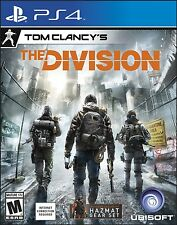 Tom Clancy's The Division [Playstation 4] PS4 NEW In Stock