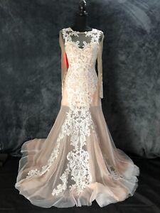 BERKETEX WEDDING DRESS - VINTAGE - SIZE 8- 10, SIMONE , CONDITION NEW RRP £1370